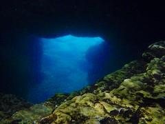 Le trou sous la grotte
