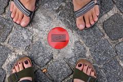 sandals (zia virgi) Tags: paris centrepompidou parigi piedoni machebelliimieibirkenstocknuovidipacca