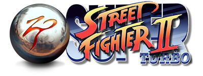 ZEN Pinball Street Fighter table logo