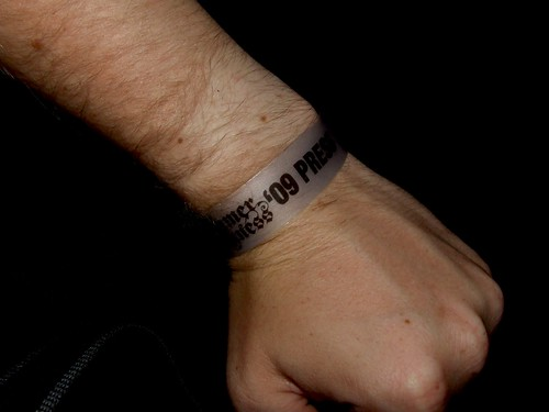 I am press (Summer Darkness '09 wristband)