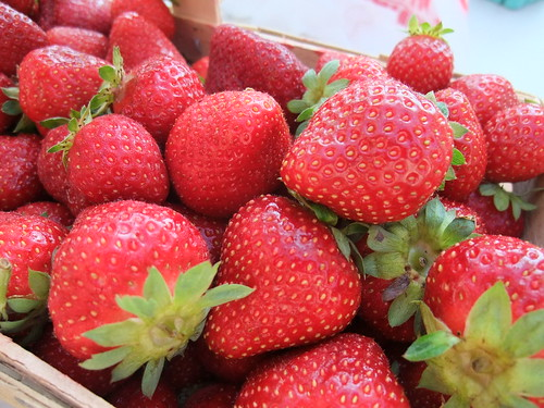 Strawberries from Crum's