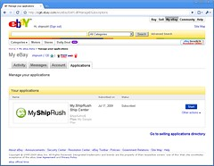 My.ShipRush on eBay 1