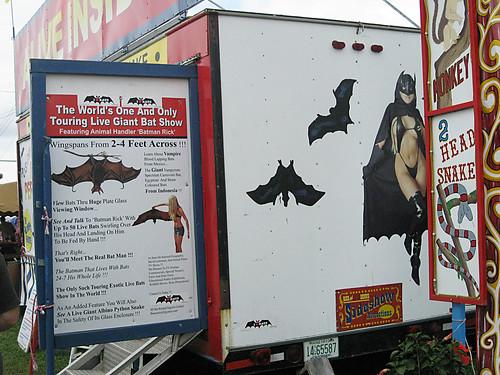 Westmoreland County Fair 2009:  Batgirl.