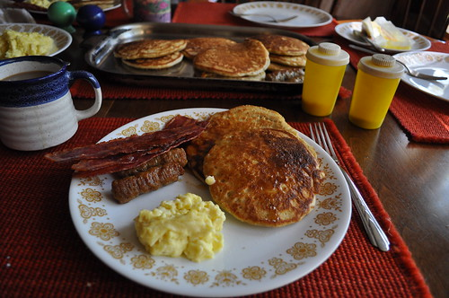 Breakfast On Labor Day Weekend in Ringe, NH