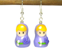 Orecchini Wanda (OfficineCreative) Tags: dolls handmade polymerclay fimo earrings charms babushka matrioska russiandolls cernit poupe orecchini matryoshkas officinecreative pouperusses
