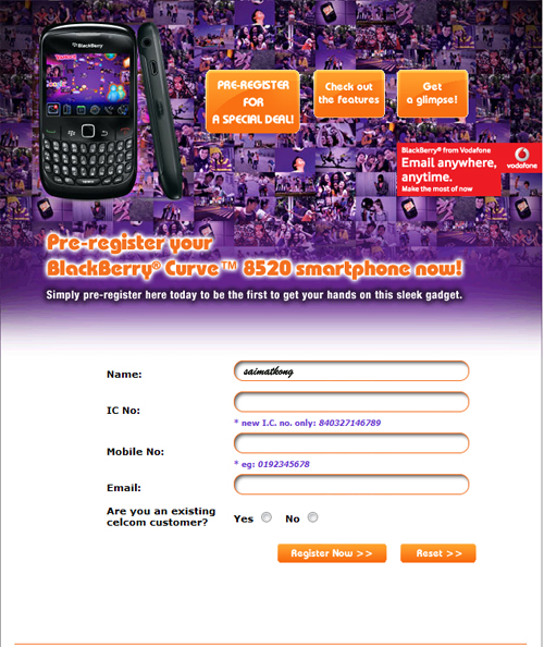 How to Pre-Register Xpax Prepaid BlackBerry Curve 8520