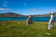 Gable Ends, Isle of Vatersay (www.bazpics.com) Tags: ocean trip summer holiday island scotland tour august visit atlantic isle westernisles 2009 hebrides outerhebrides barryoneilphotography