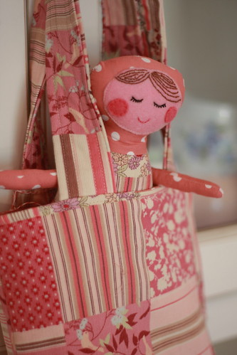 Ruby Doll and Bag