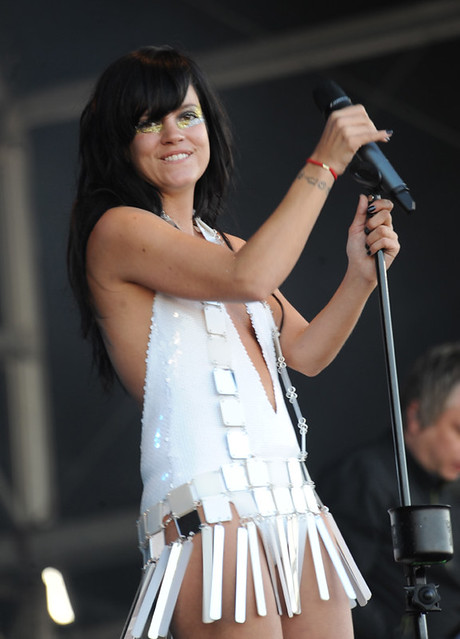 Lily Allen at bestival 2009 by Max Tollworthy Photography