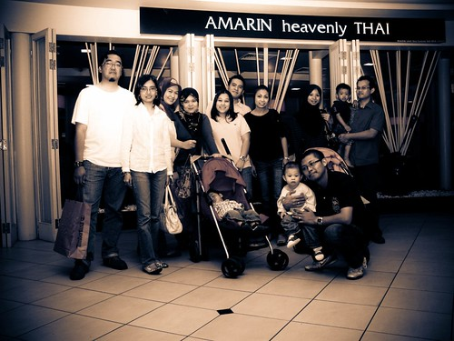 Buka puasa @ Amarin Heavenly Thai