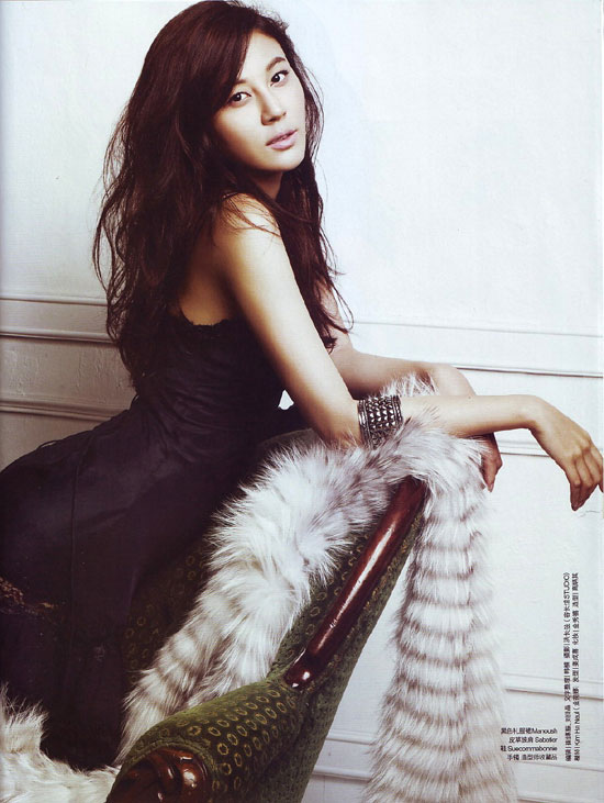 Korea Actress Kim Ha Neul (김하늘) – Ceci Magazine December 2008 - beautiful girls
