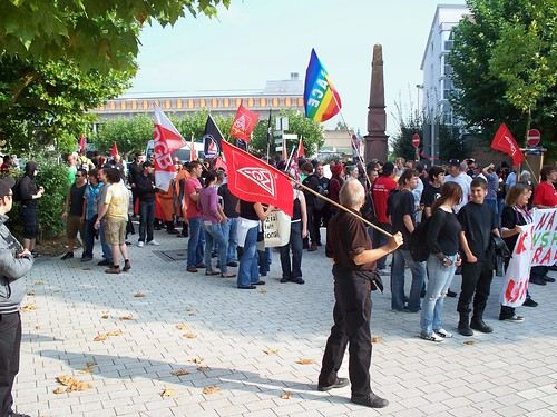 Anti-Nazi-Demo in Sinsheim