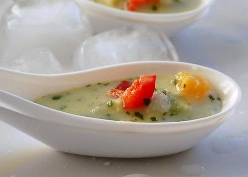 ChefQ's citrus gazpacho