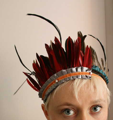 two layered headdresses