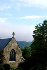 Church of the Holy Cross in Valle Crucis, NC
