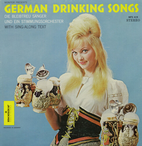 German Drinking songs album