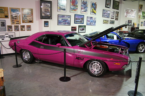 Floyd Garret Muscle Car Museum Challenger RT
