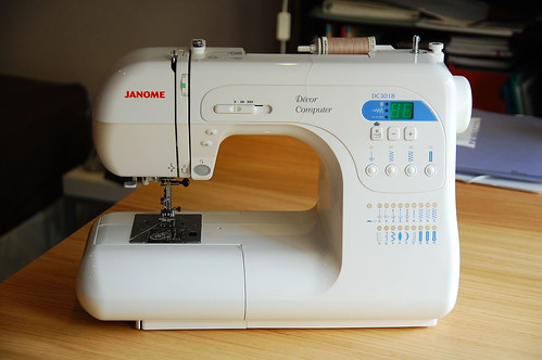 My Janome DC3018