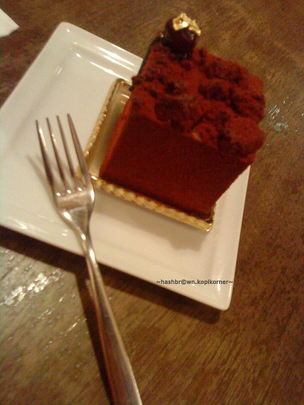 Canele Black forest cake