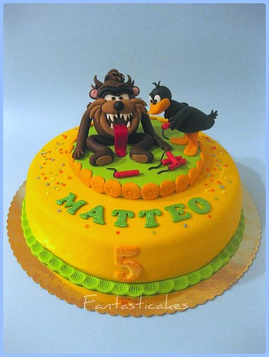 Torta Tazmania e Daffy Duck / Tazmania and Daffy Duck Cake