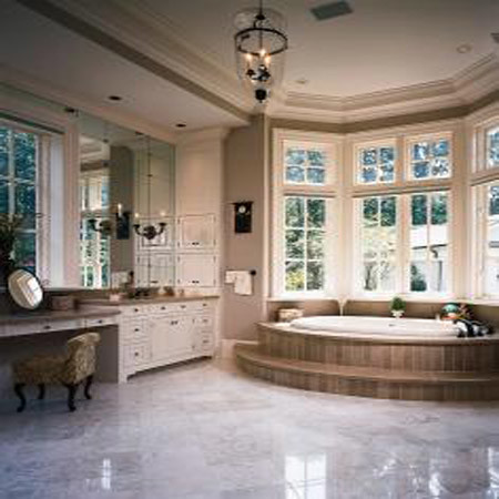 Grand and gracious - House Design - Bathroom, Architectur, Classic Home, Interior design