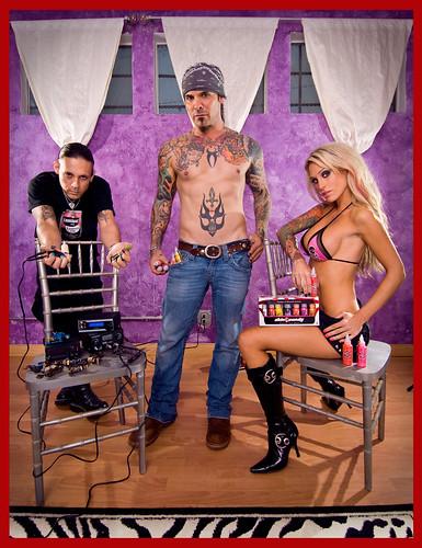 Skin Candy Tattoo Ink Portrait by Noel Bass