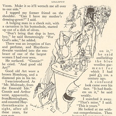 "Illustration by Ronald Searle from ""Yonder Peasant who is he"", Lilliput magazine, December 1950 (mikeyashworth) Tags: illustrator cartoonist searle ronaldsearle mikeashworthcollection"