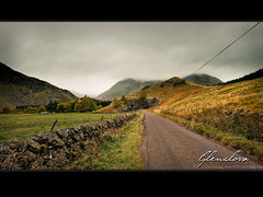 And whither then? I cannot say (SaltGeorge) Tags: road autumn cloud mountain field wall landscape scotland highlands cloudy overcast glen highland glenclova moutains braedownie