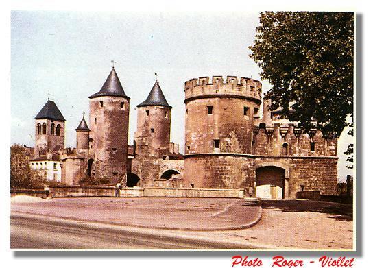 La porte des Allemands, ville de METZ