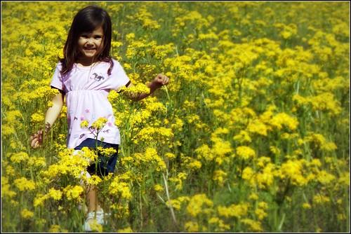 Princess in Flowers