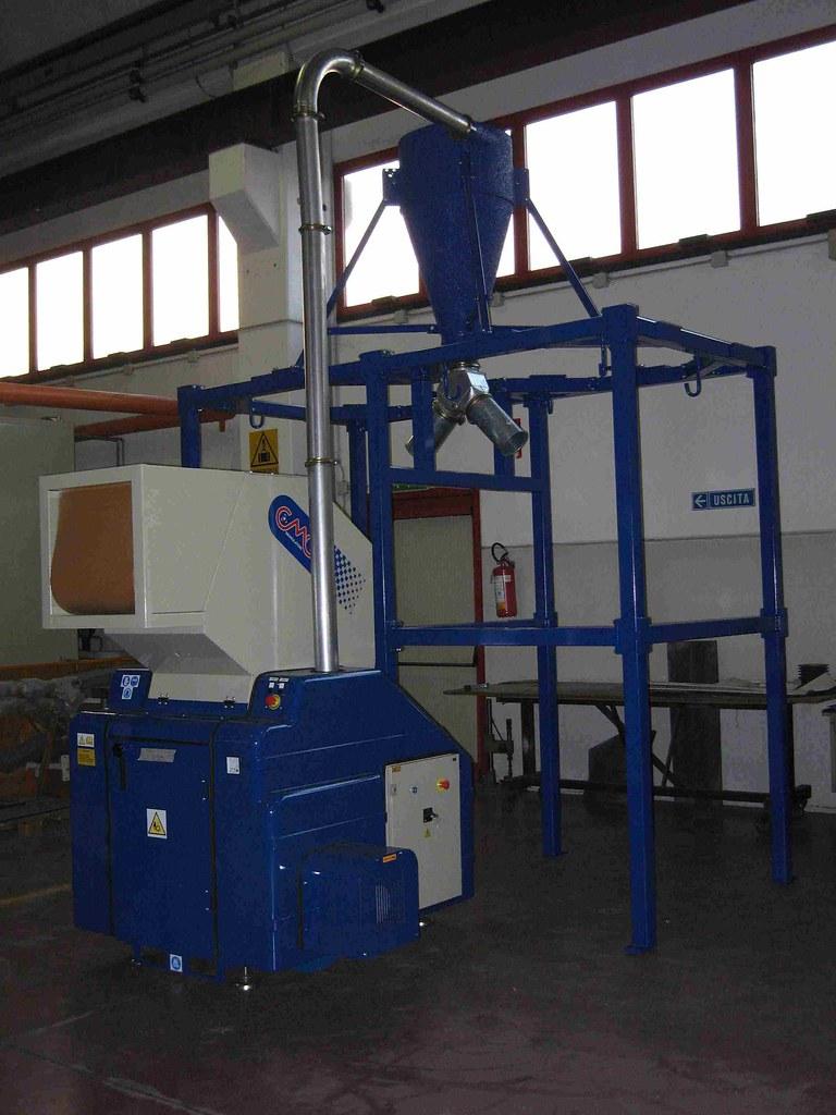 CMG Spa: Granulatori N40 per carta - Granulators & shredders for paper