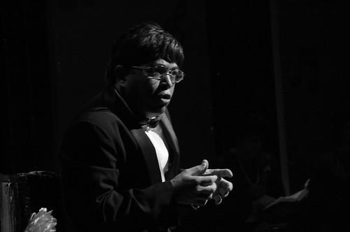 Exmin Carvajal y su monologo