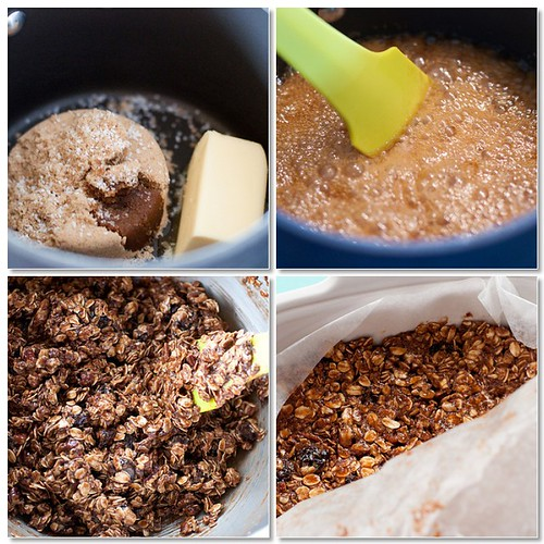Making Granola Bars