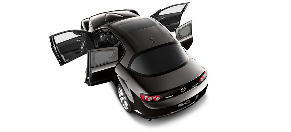 4-door sedan Mazda RX-8 Exterior