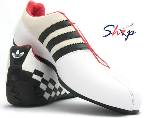 bebc4e6f7fe7 ShopinMart  ShopinMart Adidas O-Type Driving Race Shoes White
