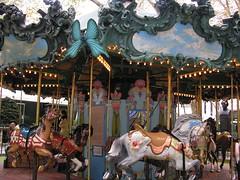 Carousel in Bryant Park