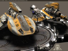 yellow-spaceship-by-greg-desantis (YourCure) Tags: space future concept