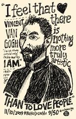 NaNoDrawMo 2009 - 9/50 - Van Gogh