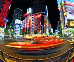 AKIBA (ajpscs) Tags: street nightphotography japan japanese tokyo nikon taxi streetphotography highcontrast  nippon  akihabara akiba hdr fisheyelens electrictown  d300 105mm  photomatix tonemapped  highdynamicrangeimage ajpscs akihabaraelectrictown japanhdr  akihabaradenkigai tokyohdr streetshothdr