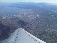 Looking Down on SFO at Departure