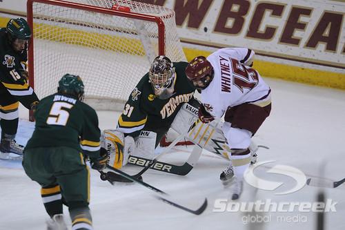 NCAA HOCKEY: Vermont at Boston College