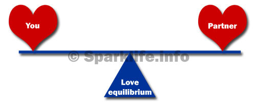 The love equilibrium - balanced