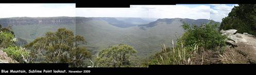 Blue Mountains lookout