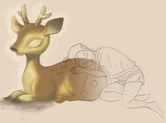 WIP - Reindeer & Elf