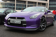 Purple Nissan GTR (Alex Penfold) Tags: alex photography photo nissan purple image sunday picture photograph service gtr penfold pistonheads