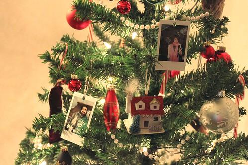 our polaroid ornament