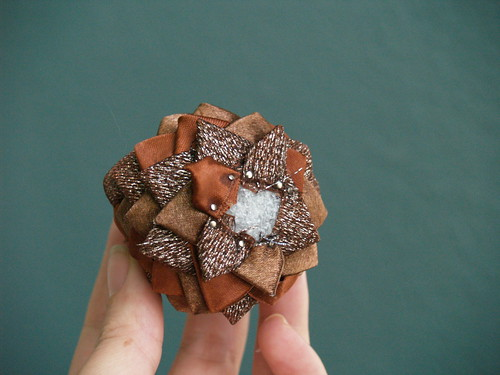 Pinecone Ornament Step 4
