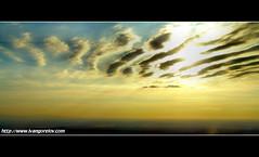 Vanilla Sky / Vanlia gbolt (FuNS0f7) Tags: dawn flight vanillasky sonycybershotdscf828 cloudslightningstorms yourwonderland