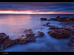 Amanece sobre Tabarca (Pedro J. Zamora) Tags: agua amanecer rocas santapola marmediterraneo marineras cabodesantapola