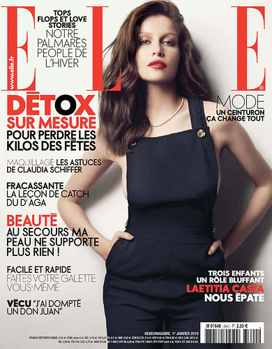 Laetitia Casta by Dusan Relijn///ELLE France